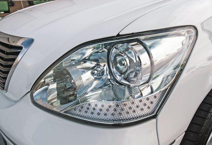 Стильный Lexus LS430 из США