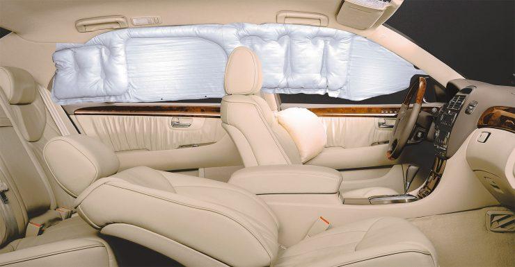 Безопасность Lexus LS430