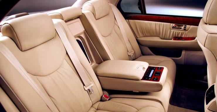 Для босса-пассажира Lexus LS430